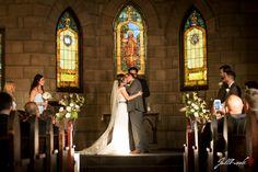 Beautiful moment, first kiss as husband and wife- Wedding of Jared and Erika in Yuma, Arizona