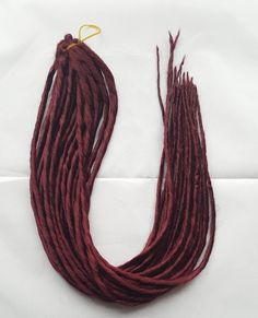 Elysee Star - #39 Burgundy Red Synthetic Dreadlocks (Double Ended) Pac – DreadLab