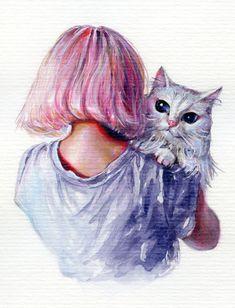Pink Cuddles by TanyaShatseva.deviantart.com on @DeviantArt