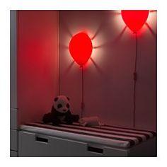 IKEA - DRÖMMINGE, Vegglampe, , Gir et mykt stemningsfullt lys.