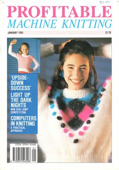 Profitable Machine Knitting Magazine 1991.01 Free PDF Download 300dpi ClearScan OCR