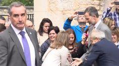 El Rey Felipe VI visita la central hidráulica de la Malva
