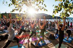 Yoga-Festival Wanderlust kommt erstmals aus den USA nach Deutschland   Sports…