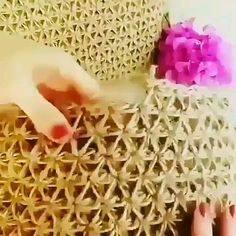 Crochet Tutorial Free Patterns For Downl Crochet - Diy Crafts Crochet Motifs, Crochet Stitches Patterns, Knitting Stitches, Crochet Designs, Knitting Patterns, Blanket Patterns, Love Crochet, Beautiful Crochet, Knit Crochet