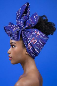 Ankara Xclusive: Classical Ankara Head Wrap Style For Beautiful LadiesYou can find African head wraps and more on our website. Ankara Wedding Styles, Unique Ankara Styles, African Beauty, African Women, African Fashion, Ankara Fashion, African Style, Scarf Hairstyles, African Hairstyles