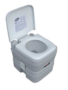 Century 6210 5-Gallon Portable Toilet : for the storm shelter. HEY you never know how long it will be or if your kid needs to pee!