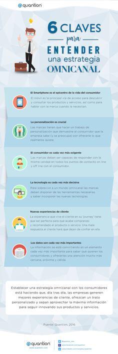 6 claves para entender una estrategia Omnicanal #infografía
