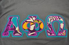 Ready to Ship Greek Letter Shirt The Monogram Express