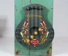 Swedish Välkommen Door Harp Chime Sweden by 13thStreetEmporium $28.00 & Vintage Wooden Swedish Door Harp Rosemaled Blue Floral | Doors ...