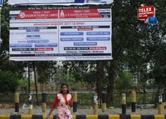 Kalsekar college campaign done by Telex Advertising, hoarding at Kharghar.