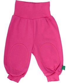 Fred's World organische katoenen roze baby broek. freds-world.nl.emilea.be