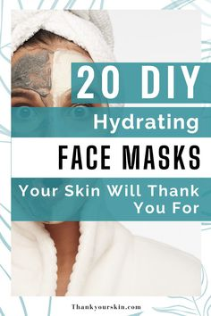 We made a list of 20 DIY moisturizing face mask recipes that you can make at home with basic household items. You can rest assured that your looks will change in an instant. Check it quickly.#face mask #skin clear mask