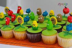 cupcakes plants vs zombies - Buscar con Google