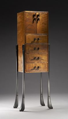 """Sterling""  Wood Cabinet  Created by Brian Hubel"