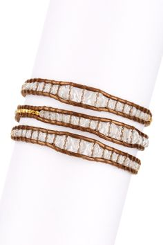 Quartz Wrap Bracelet By Chan Luu