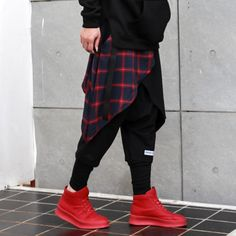 NHXX TWO PIECE RED PLAID CASUAL SKIRT BLACK PANTS   #physique #autumn #cozy #relaxing #fall #bodybuilding #fitness #fitlife #fit #latino #feet #muscle #chillin #muscles #sweatpants #hat #cali #losangeles #california #rihanna #westhollywood #riri #badgalriri #rih #body #bodygoals #perfectbody #fitnessmotivation #fitgirl #sassy