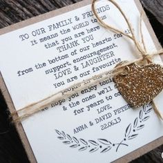20 Personalized Favour Boxes