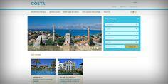 Costa Real Estate'in mobil uyumlu web sitesi Ajansweb imzası ile yayında http://www.costaturkey.com/