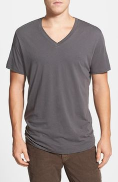 For the Hubs. $36 GROCERIES Organic Cotton V-Neck T-Shirt available at #Nordstrom