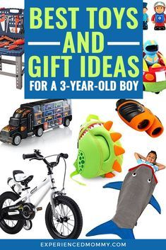 "Best Toys and Gift Ideas for a Boy. Even though age 3 can come with attitude and temper tantrums (""thr Unique Gifts For Boys, Cool Toys For Boys, 3 Year Old Toys, 3 Year Old Girl, Birthday Gifts For Boys, Two Year Olds, Old Boys, Age 3, Kids And Parenting"