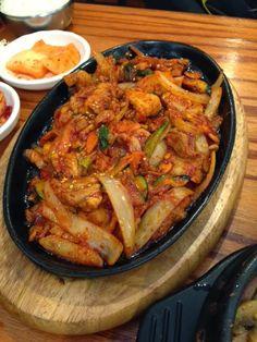 Korean Pork Bulgogi.