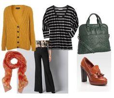 mustard & stripes + sexy bag. ftw
