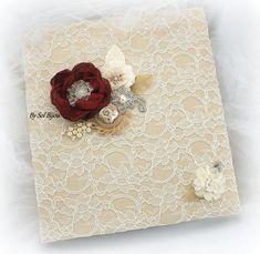 "Simply creative album souvenir photo kraft marron album-coeurs 8x8/"""