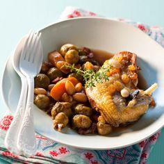 Tajine de faisan aux légumes