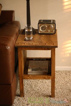 "Ana White | Build a ""Tidy Up"" End Table 