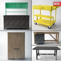 DIESEL with SCAVOLINI.Nabor kitchen furniture