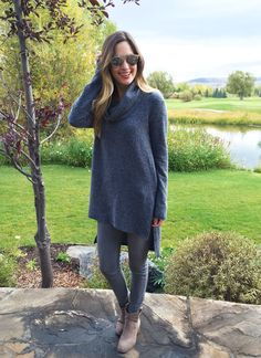 Parson Sweater in Charcoal