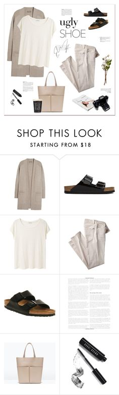 """""""My ugly shoes."""" by yexyka ❤ liked on Polyvore featuring N.Peal, Birkenstock, Acne Studios, 7 For All Mankind, Grace, Zara, Wedgwood, American Apparel, Bobbi Brown Cosmetics and uglyshoes"""