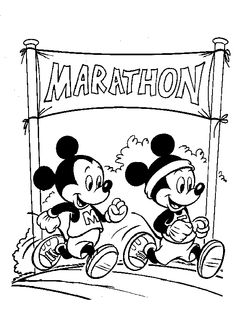 Mickey Mouse Coloring Pages 15