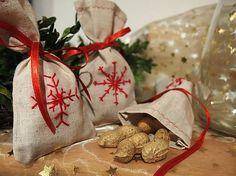 kamilkova / Vianočné vrecúško vločka