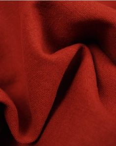 A medium weight linen and cotton blend fabric. This natural, breathable fabric comes in a rich rust red shade and is perfect for super comfortable summer clothing. Viscose Fabric, Cotton Fabric, Lining Fabric, Fabric Swatches, Fabric Weights, Summer Outfits, Rust, Summer Clothing, Sewing