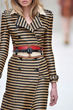 Burberry Prorsum S/S 12   This makes me want to run around my house screaming its so amazing!!!!!