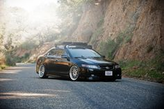 Lowered the car some more and slapped on the rack - Acura TSX Forum