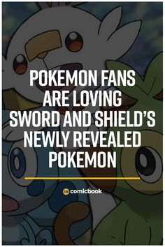 Pokemon Fans Are Loving Sword and Shield's Newly Revealed Pokemon. Latest Video Games, Video Game News, Pokemon Funny, New Pokemon, Am In Love, Love You, Comic News, New Trailers, Geek Culture