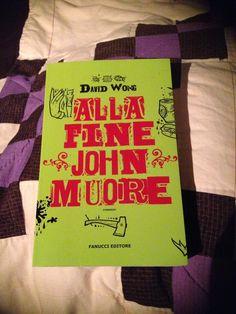 """[...] Non domandarci la formula che mondi possa aprirti [...]:""""Alla fine John muore """", David Wong - Trova il film e vinci l'altro mondo..."""