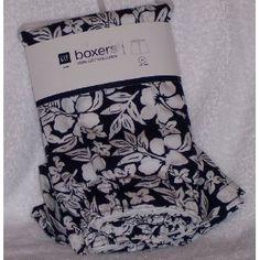 Gap Boxers Underwear Boxer 100% Cotton Blue and White Tropical Flower Motif (Apparel)  http://balanceddiet.me.uk/lushstuff.php?p=B005MQXFC2  B005MQXFC2