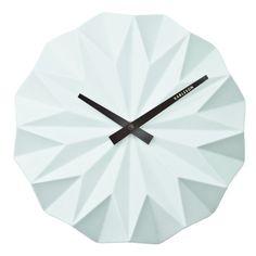 Horloge murale Origami Delamaison