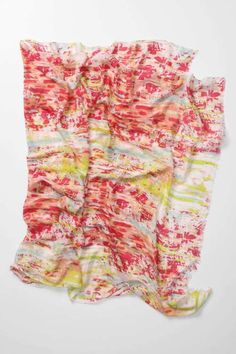 Add a pop of color to your outfit with this great this scarf from Anthropologie!