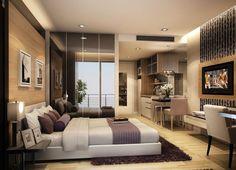 Дизайн квартиры студии 30 кв м: идеи оформления