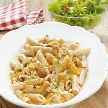Kürbis-Walnuss-Sauce mit Pasta PP 11