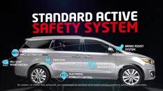 2015 Kia Sedona - Safety System