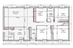 Fine Plan Maison 4 Chambres Comble Amenageable that you must know, You?re in good company if you?re looking for Plan Maison 4 Chambres Comble Amenageable Home Design Software, Ranch Style Homes, Best Investments, Architect Design, Good Company, Cool Kitchens, House Plans, Floor Plans, Construction