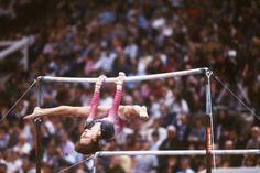 Maxi Gnauck - http://20th-century-gymnastics.tumblr.com/