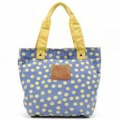 Nicole Lee Purses Nikki Handbag Wendy Polka Dot - Blue,