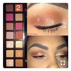 Makeup Products Morphe Eyeshadow Palette 38 New Ideas Pretty Makeup, Love Makeup, Makeup Inspo, Makeup Inspiration, Amazing Makeup, Skin Makeup, Eyeshadow Makeup, Eyeliner, Brows