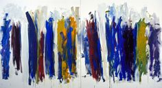 My paintings aren't about art issues. They're about a feeling that comes to me from the outside, from landscape. … Paintings aren't about the person who makes them, either. My paintings have to do with feelings'. Joan Mitchell, 1974
